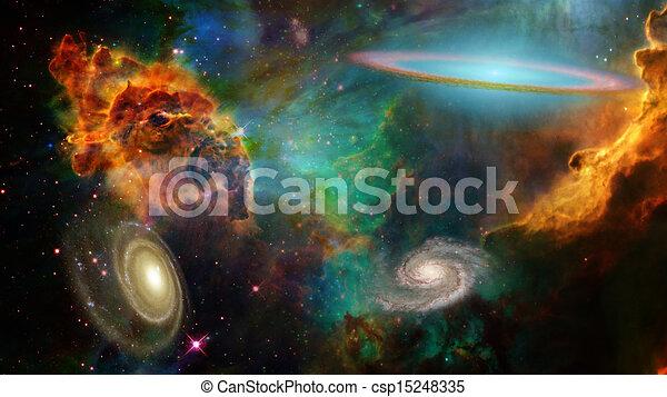 Espacio profundo - csp15248335