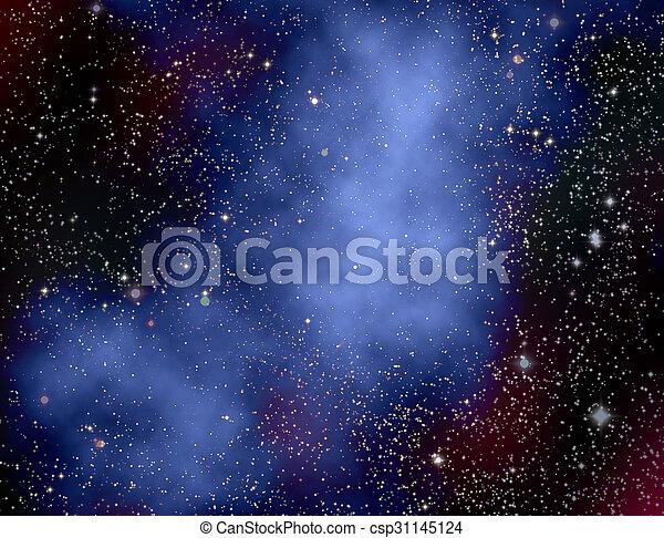 Espacio profundo - csp31145124