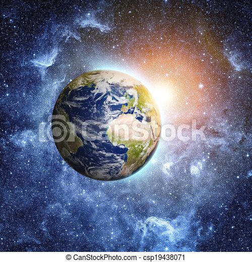 Espacio profundo - csp19438071