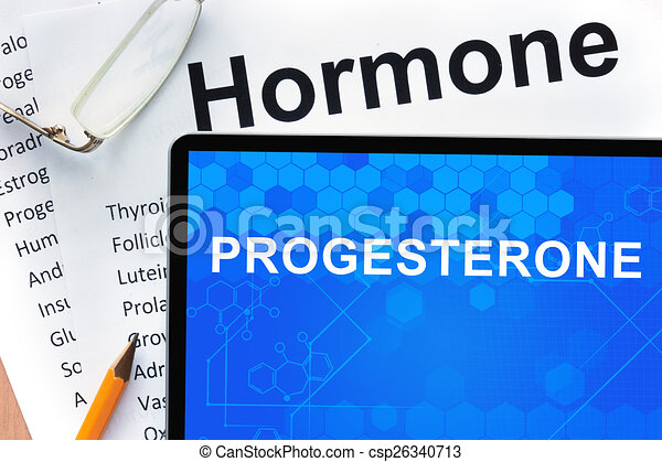 progesteronmangel beim mann horn