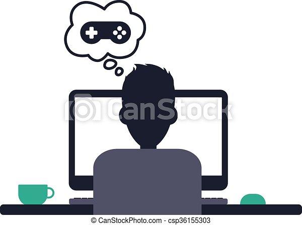 Tema de programador de programadores de diseño - csp36155303