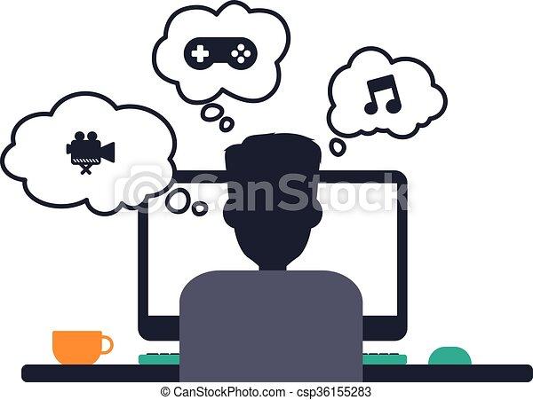 Tema de programador de programadores de diseño - csp36155283