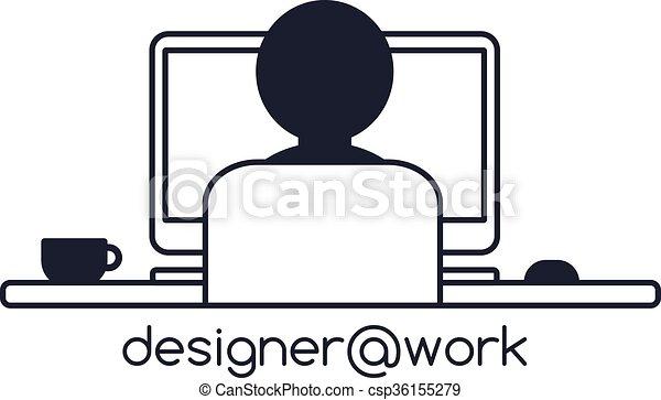 Tema de programador de programadores de diseño - csp36155279