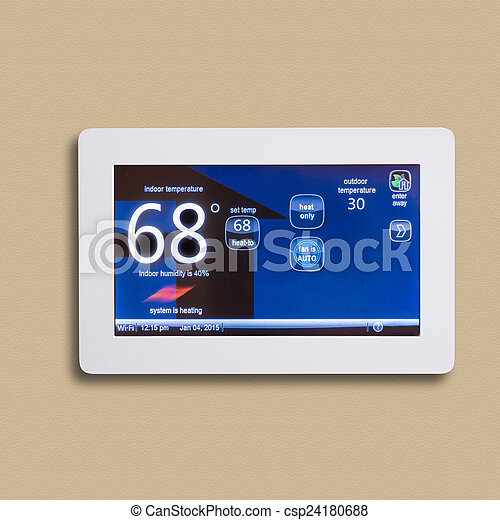 Programmable thermostat, isolated - csp24180688