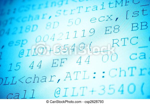 Programming code - csp2628793