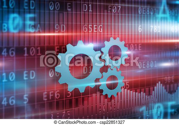 Progreso de negocios - csp22851327
