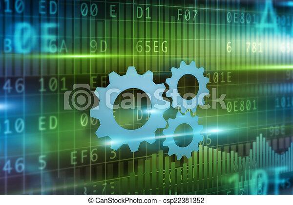 Progreso de negocios - csp22381352
