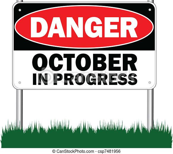 Octubre en progreso - csp7481956
