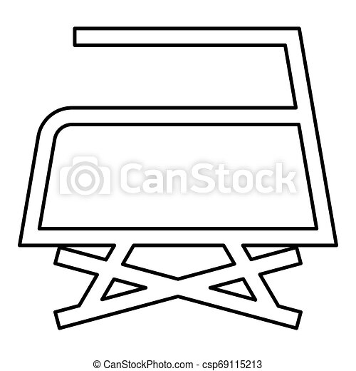 Prohibited Ironing is not allowed with steam Clothes care symbols Washing concept Laundry sign icon outline black color vector illustration flat style image - csp69115213