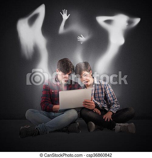 Prohibited web sites - csp36860842