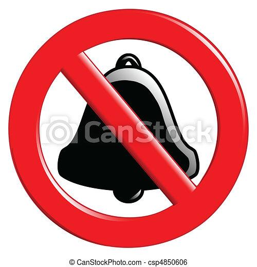 Prohibition of Ringing - csp4850606