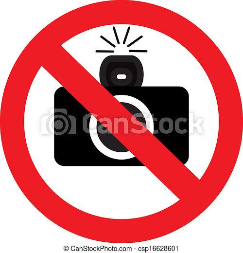 prohibition sign - csp16628601
