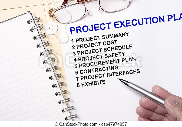 Project execution plan - csp47974057
