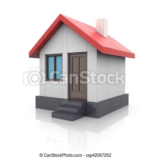 Project maison virages mod le dessin 3d project for Dessin 3d maison