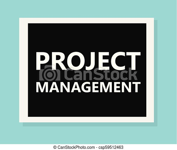 project management concept - csp59512463