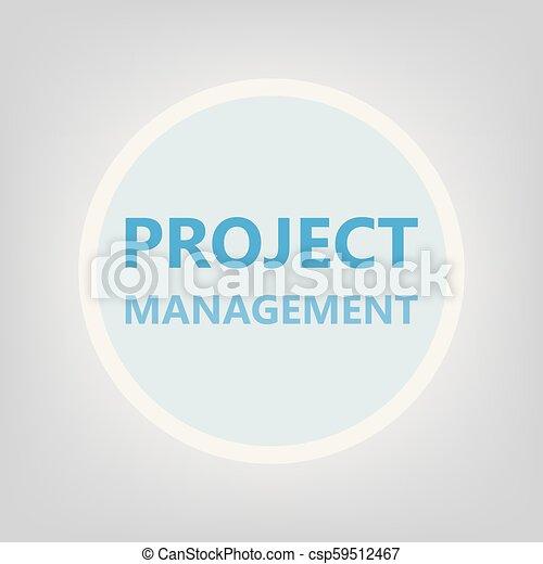 project management concept - csp59512467