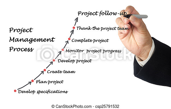 Project Management Process - csp25791532