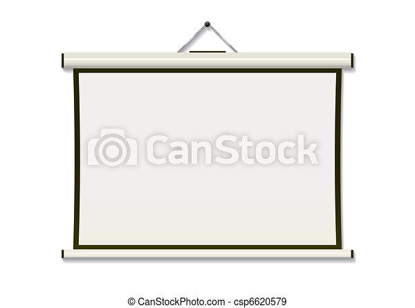 Projection screen hang - csp6620579