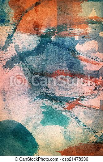 projektowany, tło, sztuka, abstrakcyjny - csp21478336