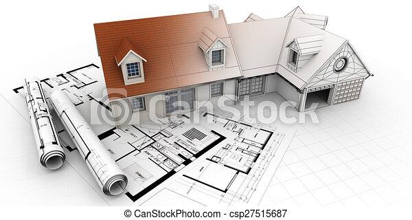 Projet maison architecture ach vement diff rent for Projet 3d maison