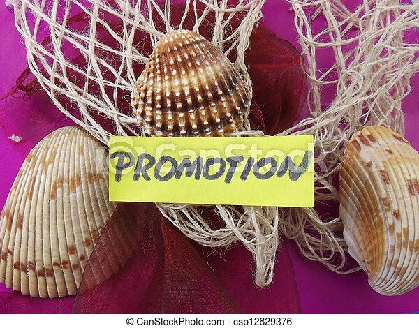 promoção, palavra - csp12829376