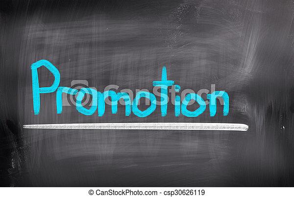 Promotion Concept - csp30626119
