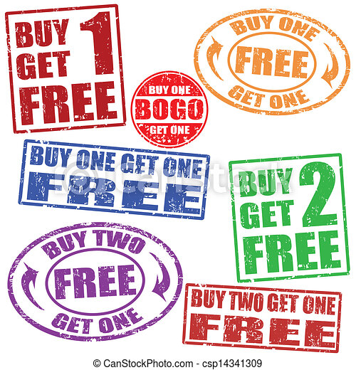 Promotional sale stamps set - csp14341309