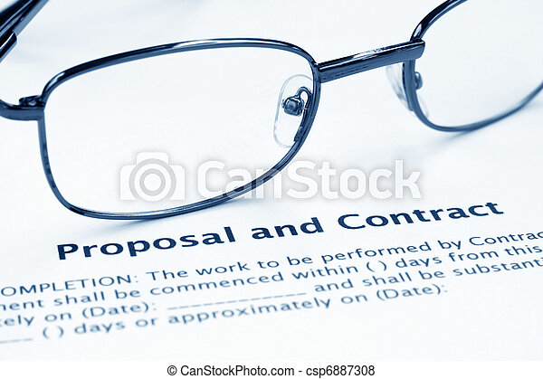 Proposal and contract - csp6887308