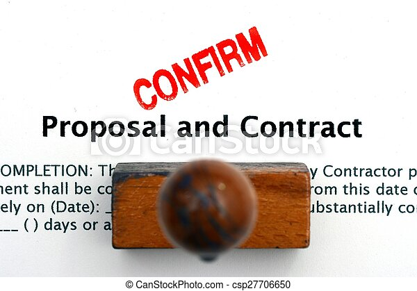 Proposal and contract - csp27706650