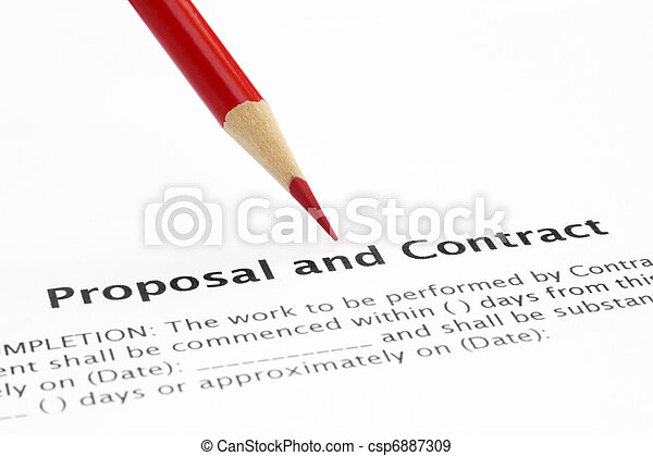 Proposal and contract - csp6887309