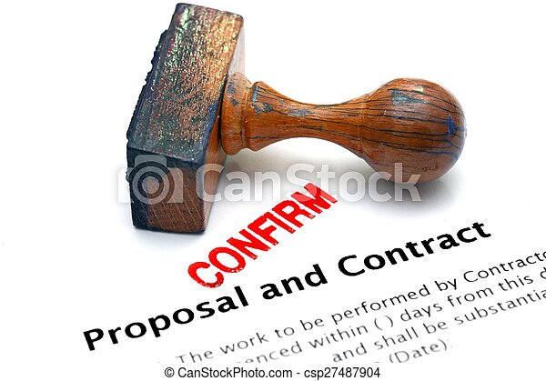 Proposal and contract - csp27487904