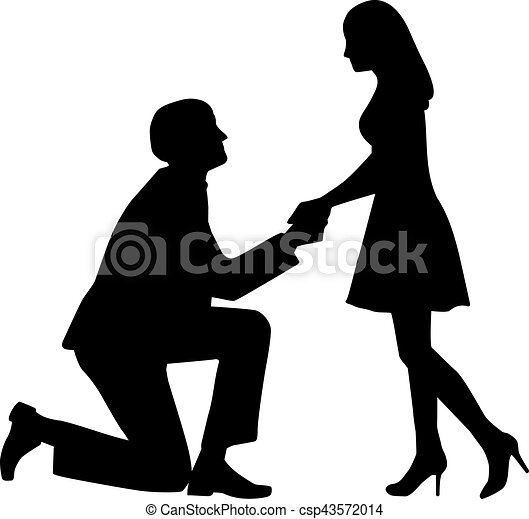 proposal man on knees asking his wife to marry him rh canstockphoto com proposal clipart free marriage proposal clipart free