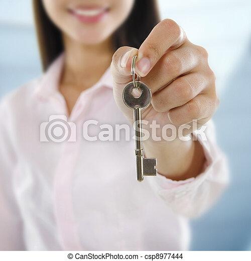 proprietà, agente - csp8977444