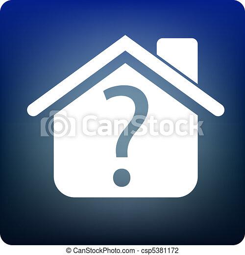 proprietà, domanda - csp5381172