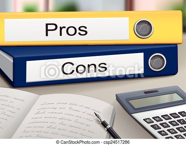 pros and cons binders - csp24517286