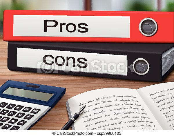 pros and cons binders - csp39960105