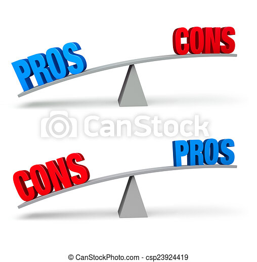 Pros and Cons Set - csp23924419