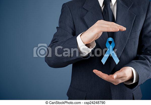 Prostate cancer awareness - csp24248790