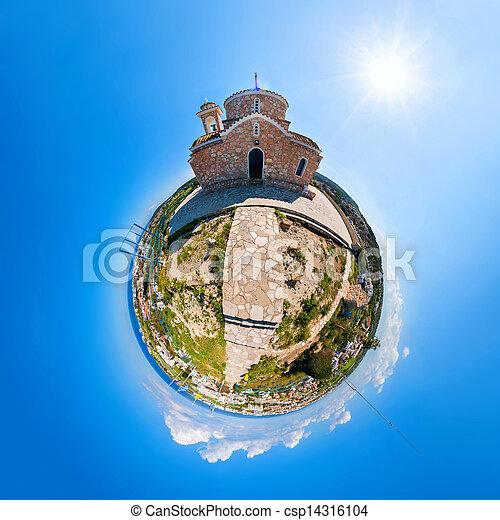 Die Kirche des Profits Elias in Protaras - csp14316104