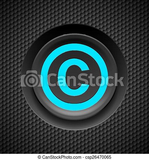 proteção, direitos autorais - csp26470065