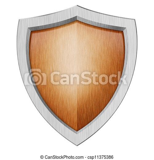 proteção, escudo - csp11375386