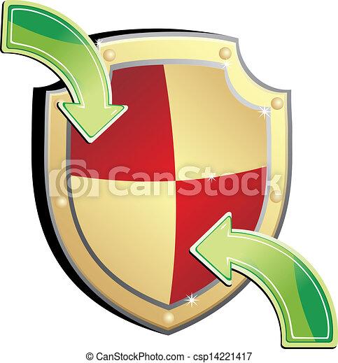 proteção, escudo - csp14221417