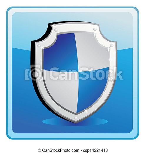 proteção, escudo - csp14221418