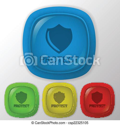 proteção, escudo - csp22325105