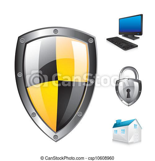proteção, escudo - csp10608960