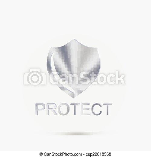 proteção, escudo - csp22618568