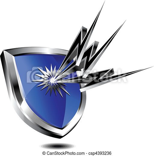 proteção, escudo - csp4393236