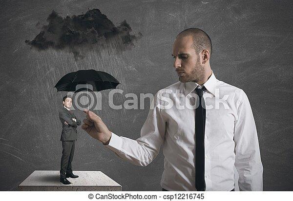 proteção, negócio - csp12216745