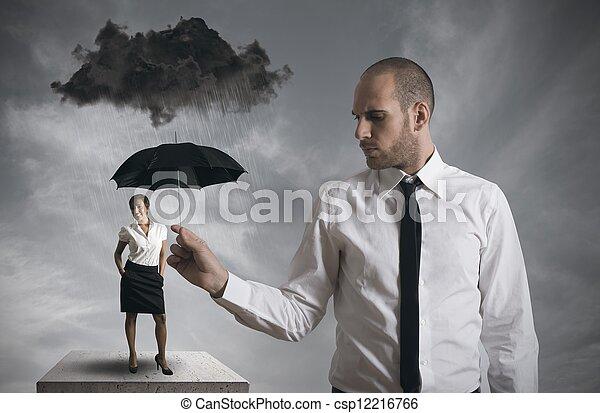 proteção, negócio - csp12216766