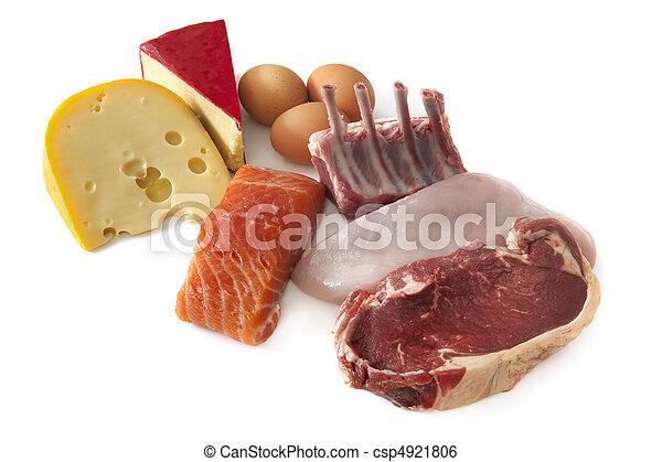 proteïne, voedsel - csp4921806